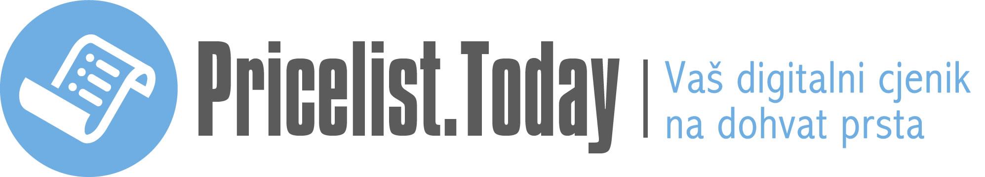 Pricelist.Today | Vaš digitalni cjenik na dohvat prsta